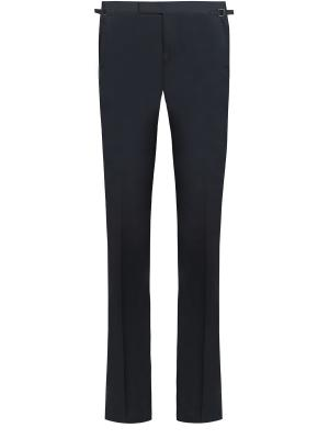 Классические брюки TOM FORD. Цвет: синий