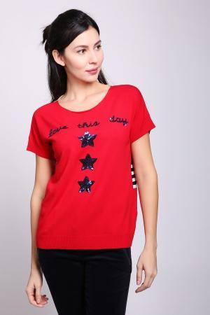 Пуловер Gardeur. Цвет: красный