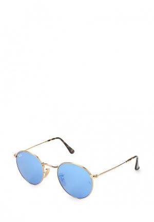 Очки солнцезащитные Ray-Ban® RB3447N 001/9O. Цвет: золотой