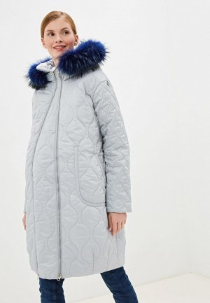 Куртка утепленная Modress. Цвет: серый