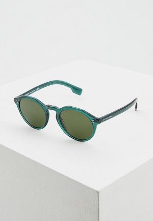 Очки солнцезащитные Burberry BE4280 377671. Цвет: зеленый