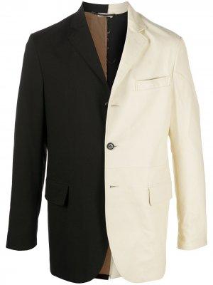 Однобортный пиджак Marni. Цвет: черный