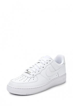 Кеды Nike MENS AIR FORCE 1 07 SHOE. Цвет: белый