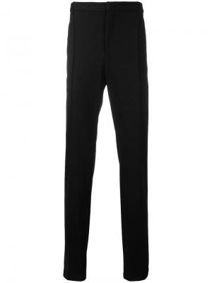 Классические брюки со средней посадкой Giorgio Armani. Цвет: черный