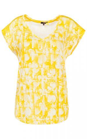 Желтая футболка DEPT