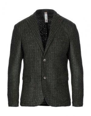 Пиджак MARTIN ZELO. Цвет: темно-зеленый