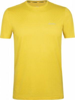 Футболка мужская , размер 50 Demix. Цвет: желтый
