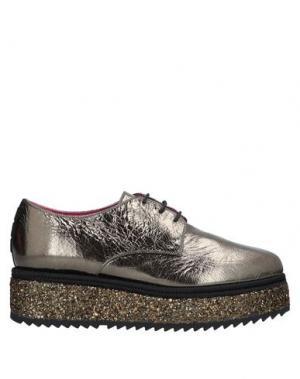 Обувь на шнурках 181 by ALBERTO GOZZI. Цвет: бронзовый