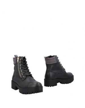 Полусапоги и высокие ботинки MARINA YACHTING. Цвет: черный