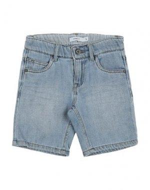 Джинсовые шорты NAME IT®. Цвет: синий