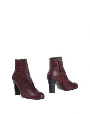 Полусапоги и высокие ботинки EQÜITARE. Цвет: баклажанный