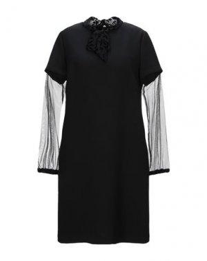 Короткое платье TROU AUX BICHES. Цвет: черный