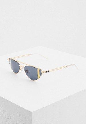 Очки солнцезащитные Hugo HG 1144/S 001. Цвет: золотой