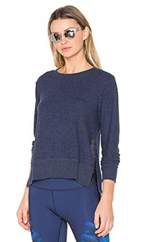 Пуловер glimpse alo. Цвет: синий