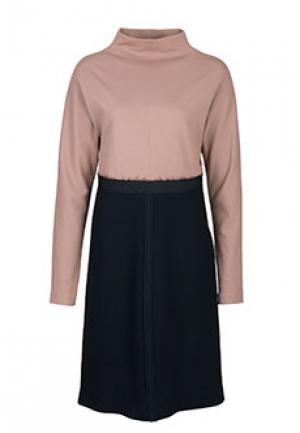 Платье ALBINO. Цвет: бежевый