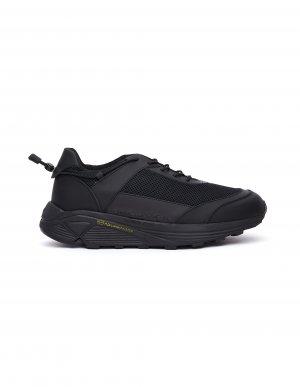 Черные кроссовки на массивной подошве Comme des Garcons Homme plus