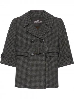 Пальто Shrunken Boys Marc Jacobs. Цвет: серый