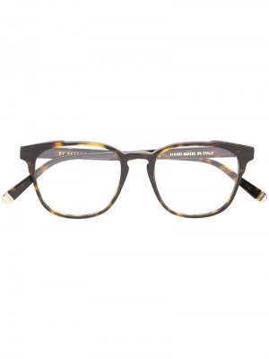Солнцезащитные очки черепаховой расцветки Retrosuperfuture. Цвет: коричневый