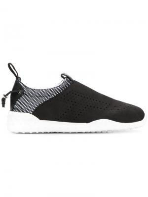 Tods кроссовки-слипоны Tod's. Цвет: черный
