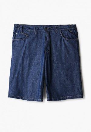 Шорты джинсовые Galion. Цвет: синий