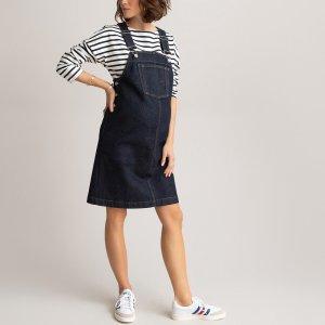 Платье-комбинезон LaRedoute. Цвет: синий