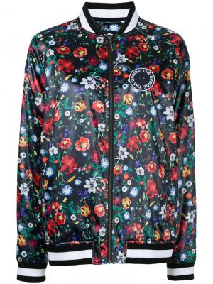 Куртка бомбер с принтом The Upside. Цвет: многоцветный