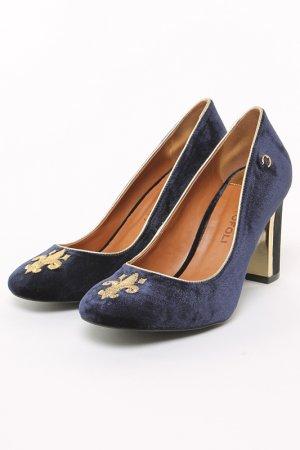 Туфли CRISTOFOLI. Цвет: синий