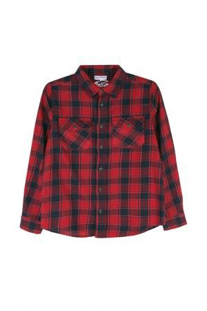 Рубашка Coccodrillo. Цвет: красный