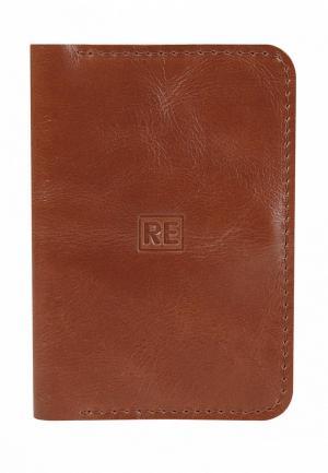 Обложка для паспорта Reconds. Цвет: оранжевый