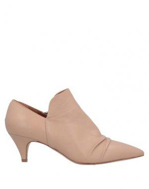 Полусапоги и высокие ботинки J|D JULIE DEE. Цвет: пудровый