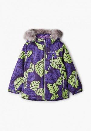 Куртка утепленная Kuoma. Цвет: фиолетовый