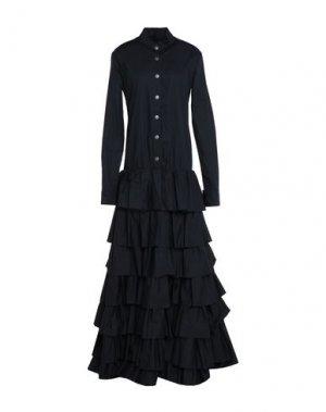 Длинное платье BAD SPIRIT. Цвет: черный