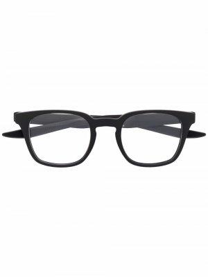 Square-frame glasses Nike. Цвет: черный