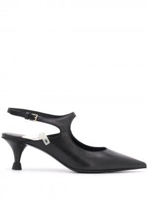 Туфли с заостренным носком Premiata. Цвет: черный