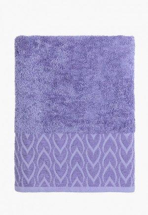 Полотенце Mia Cara Аморе 70х140 см. Цвет: фиолетовый