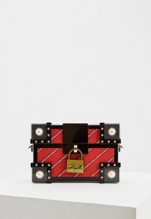 Клатч Karl Lagerfeld. Цвет: красный