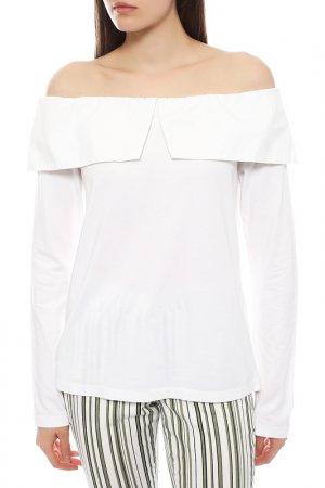 Блуза Clu. Цвет: белый white