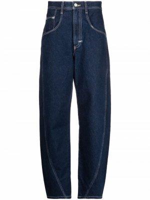 Levis: Made & Crafted джинсы бойфренды с завышенной талией Levi's:. Цвет: синий
