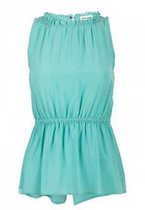 Блуза SEMICOUTURE. Цвет: голубой