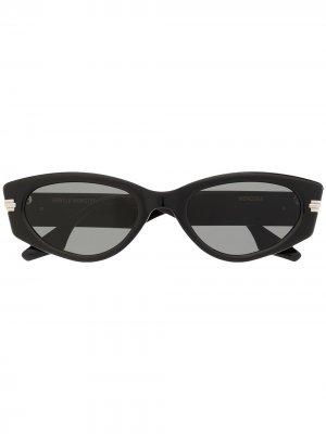 Солнцезащитные очки Monosoa 01 Gentle Monster. Цвет: черный