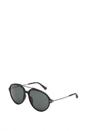 Очки солнцезащитные Dunhill. Цвет: коричневый