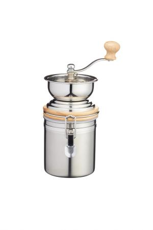 Ручная кофемолка KITCHEN CRAFT. Цвет: серебряный