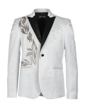 Пиджак JUST CAVALLI. Цвет: светло-серый