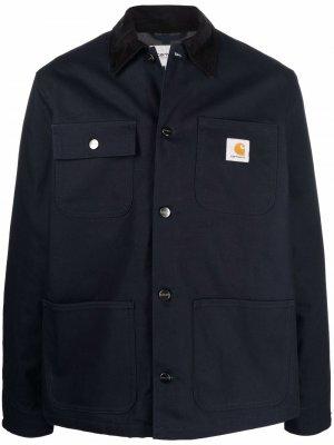Куртка Michigan Carhartt WIP. Цвет: синий