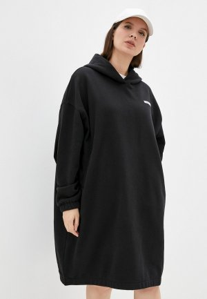 Платье Calvin Klein Jeans. Цвет: черный