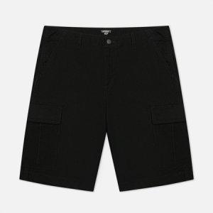 Мужские шорты Regular Cargo 6.5 Oz Carhartt WIP. Цвет: чёрный