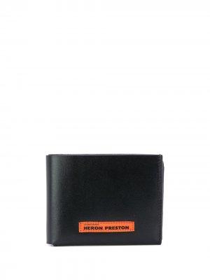 Складной кошелек Heron Preston. Цвет: черный