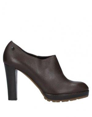 Ботинки GUIDO SGARIGLIA. Цвет: темно-коричневый