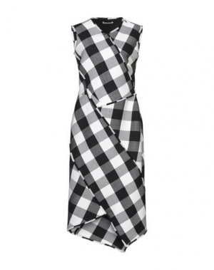 Платье длиной 3/4 ALTUZARRA. Цвет: черный