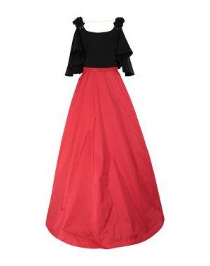 Длинное платье MUSANI. Цвет: красный